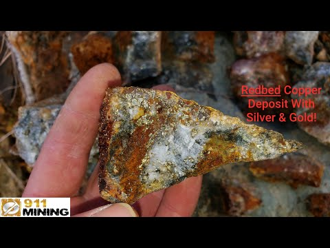 New Redbed Copper, Silver & Gold Deposit! Mineral Exploration!