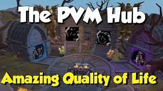 New! PVM Hub / War's Retreat! [Runescape 3] Amazing PVM Quality of Life!
