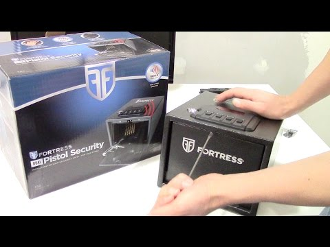 Costco's $50 Fortress Dual Pistol Security  - gun safe set-up & review