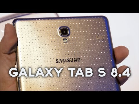 Samsung Galaxy Tab S 8.4: Hands-On & First Impressions!