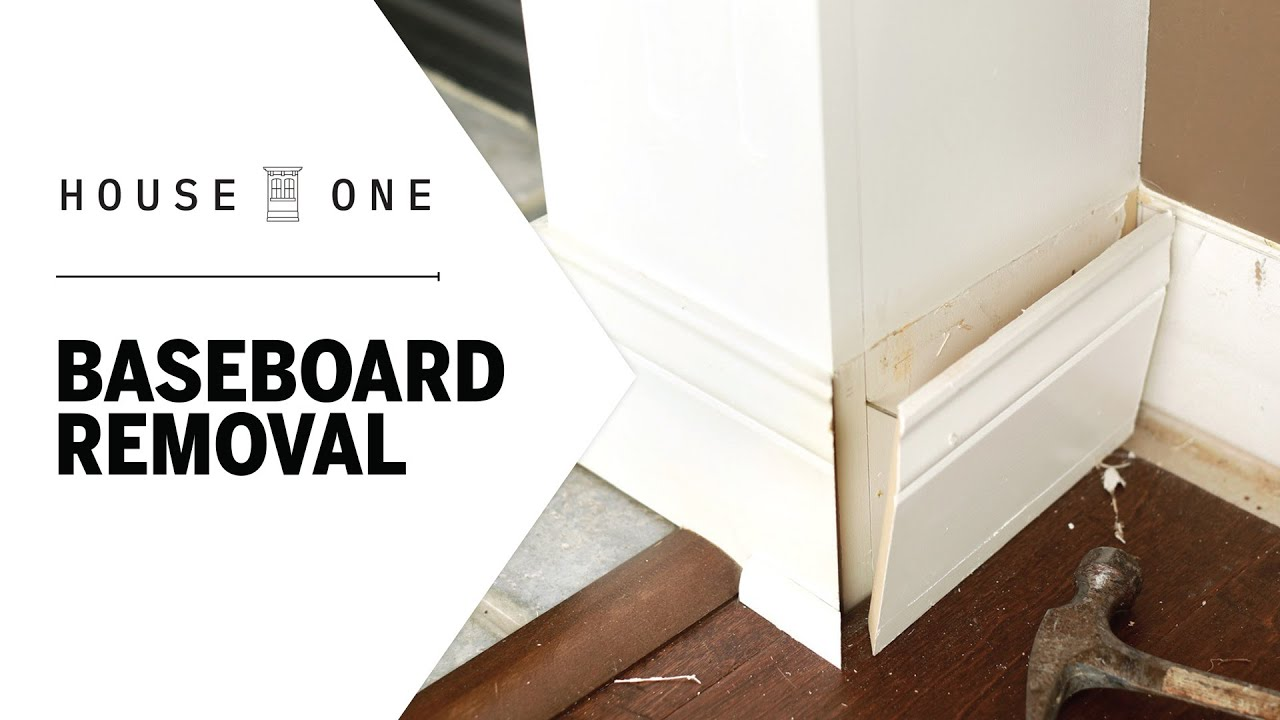 How to Remove Baseboards   House One   This Old House