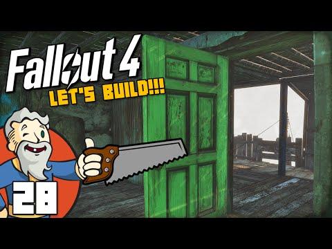 """INTERIOR DOORS & ELECTRICITY!!!"" Fallout 4 LET'S BUILD Part 28 - 1080p HD PC Gameplay Walkthrough"