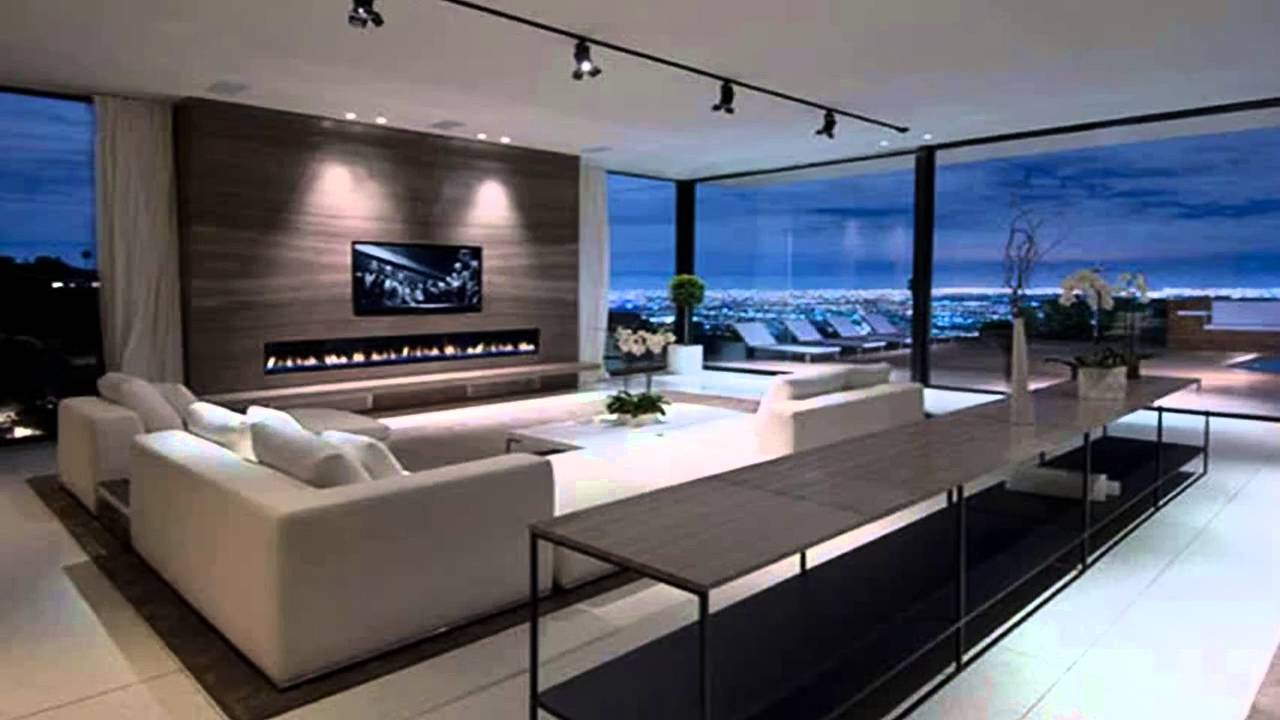 Interior Design Decorating Contemporary Homes Interior   YouTube