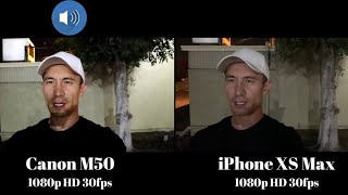 Canon m50 battery test