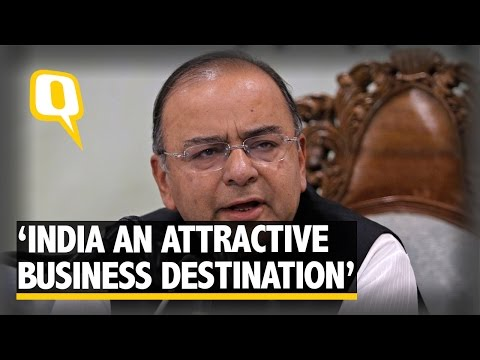 The Quint: India is An Attractive Business Destination: Arun Jaitley
