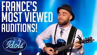 MOST POPULAR AUDITIONS On Nouvelle Star! | Idols Global