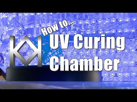 Build your own easy UV Curing Chamber for Resin 3D Printers like the Anycubic Photon