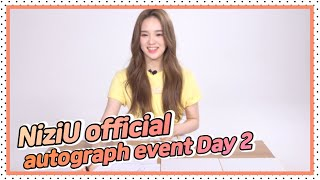 NiziU official autograph event Day 2