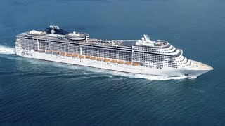 MSC Divina Med Cruise 2015 - Med Cruise from Barcelona or Rome