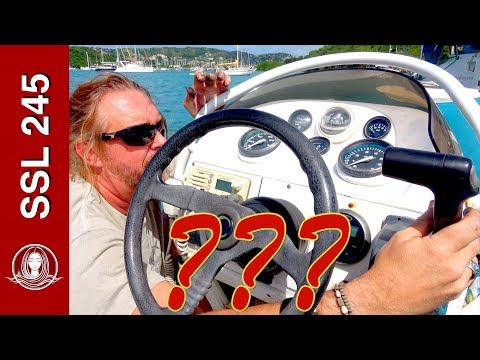 SSL 245 ~ Stealing our own dinghy...