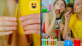 How to Sneak Candy in Class || Edible DIY School Supplies & Back To School Ideas by Mariana ZD