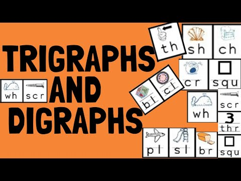 How to teach kids Digraphs and trigraphs || Entire list of w