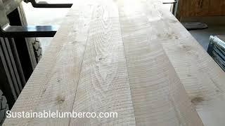 Circular sawn Douglas Fir flooring