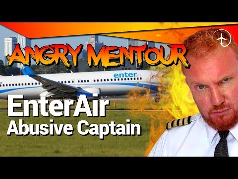 Abusive Boeing 737 Captain! - Angry Mentour!!