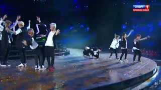 130717 EXO    Ntro  Wolf And National  2013 KAZAN Summer Universiade