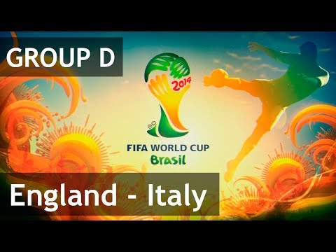 #8 England  - Italy (Group D) 2014 FIFA World Cup