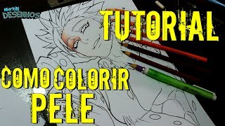 How to Color Skin#2 | Tutorial Como Colorir Pele #2 | #Especial8K #2