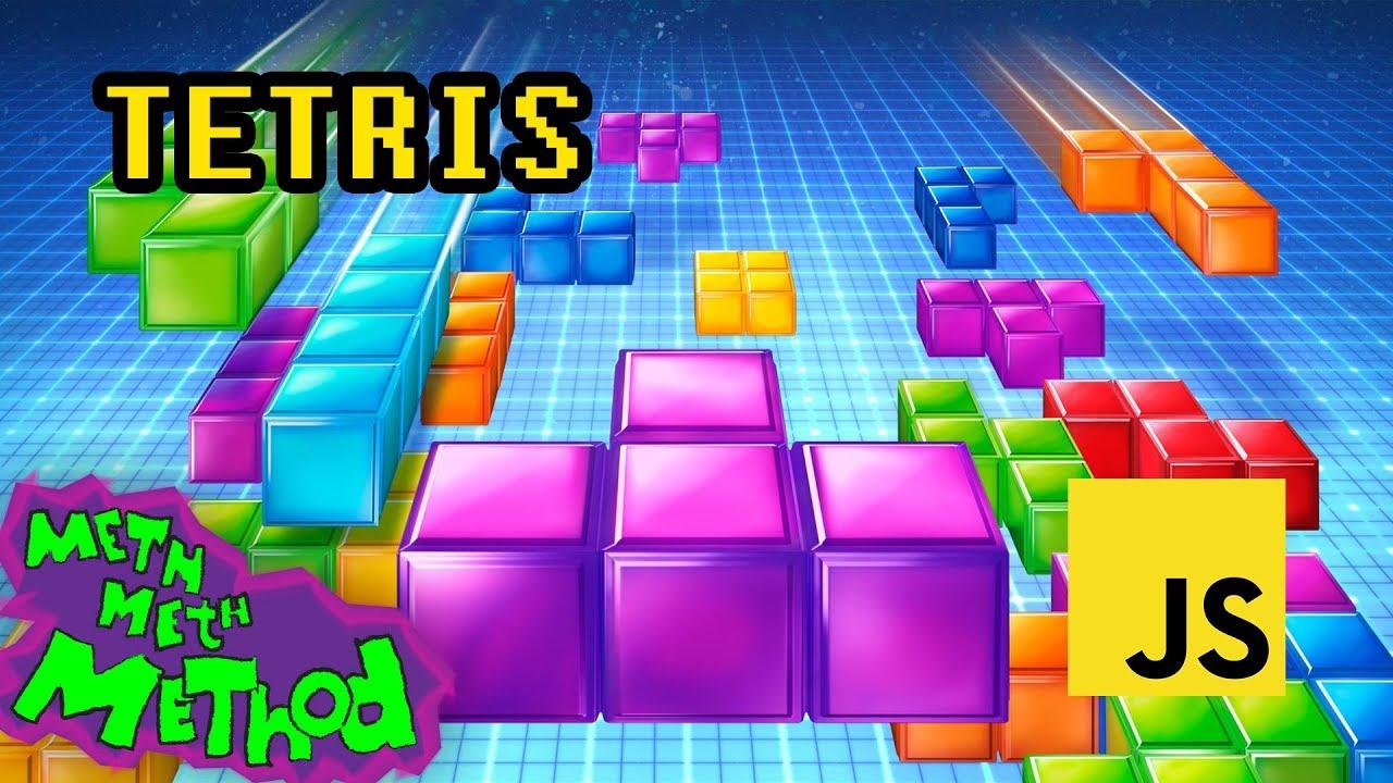 Write a Tetris game in JavaScript
