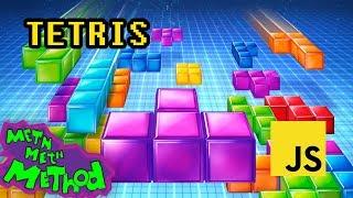 Write a Tetris game in JavaScript by Meth Meth Method