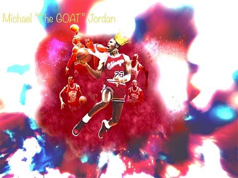 "Michael Jordan 'The GOAT' Career Highlights ""Hood Mentality"" Ice Cube [HD]"
