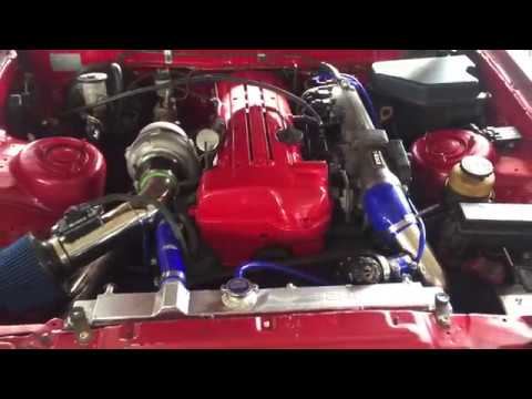 Toyota Supra MK3 swapped 2JZ-GTE VVT-i