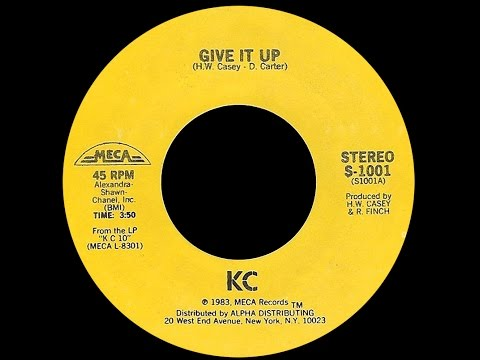KC ~ Give It Up 1984 Disco Purrfection Version