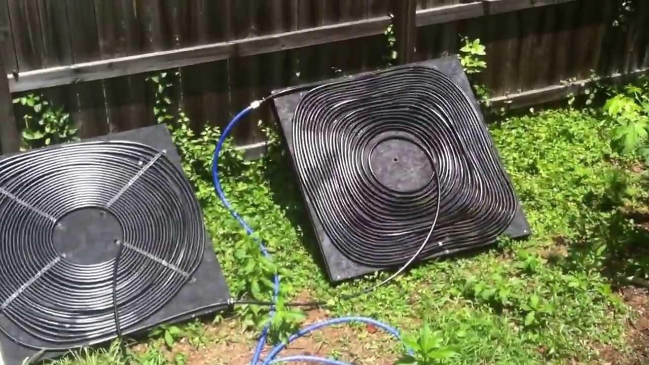 Solar pool heater youtube - Swimming pool heater installation ...