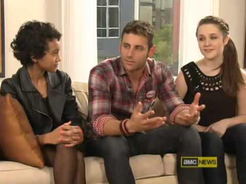 Rachel Fox and The Cast of Spork The Movie on AMC News