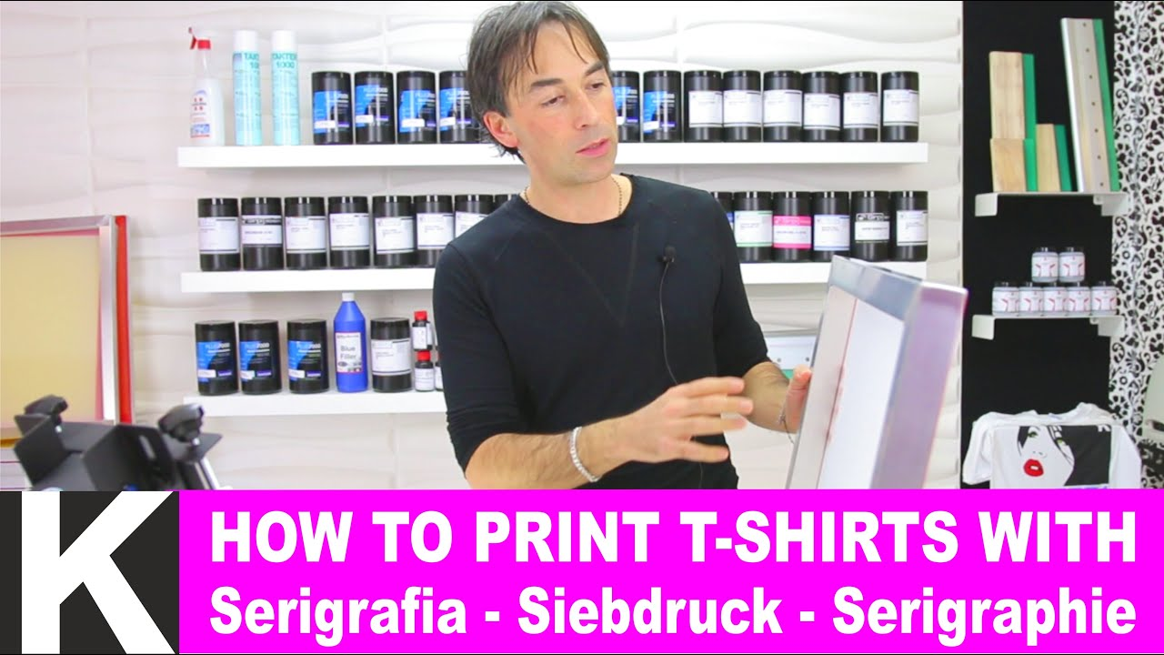 Screen print your own t shirts how to easy diy sc Printing your own t shirts