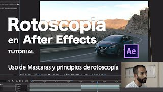 🎬  Rotoscopia y uso de mascaras en After Effects 2020   Video Tutorial