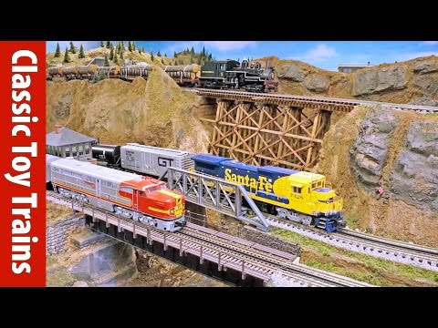 Stewart Venit's O gauge layout | Classic Toy Trains magazine