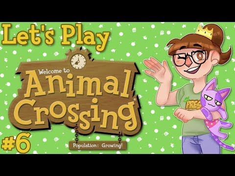 Animal Crossing Population Growing Stream Let's Play - Part 6
