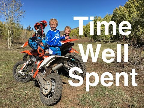 More Growing Pains with Kids on Dirt Bikes