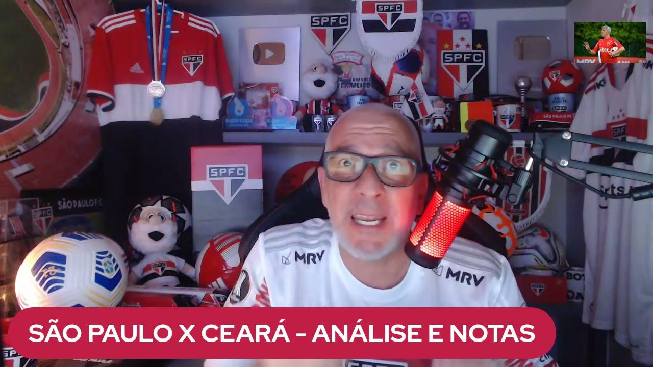 Download SÃO PAULO 1X1 CEARÁ - CAMPEONATO BRASILEIRO - ANÁLISE E NOTAS