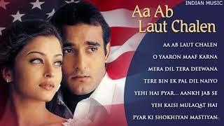 Aa Ab Laut Chalen All Songs Jukebox   Aishwarya Rai & Akshaye Khanna   Superhit Bollywoood Song