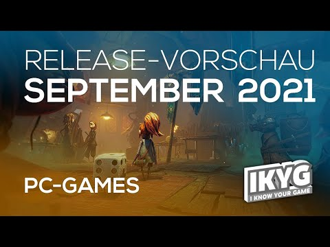 Games-Release-Vorschau - September 2021 - PC