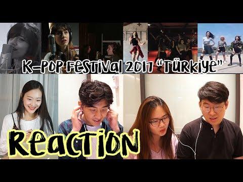 [K-POP World Festival 2017 Turkey] Korelilerin tepkisi|Koreli Arkadaş