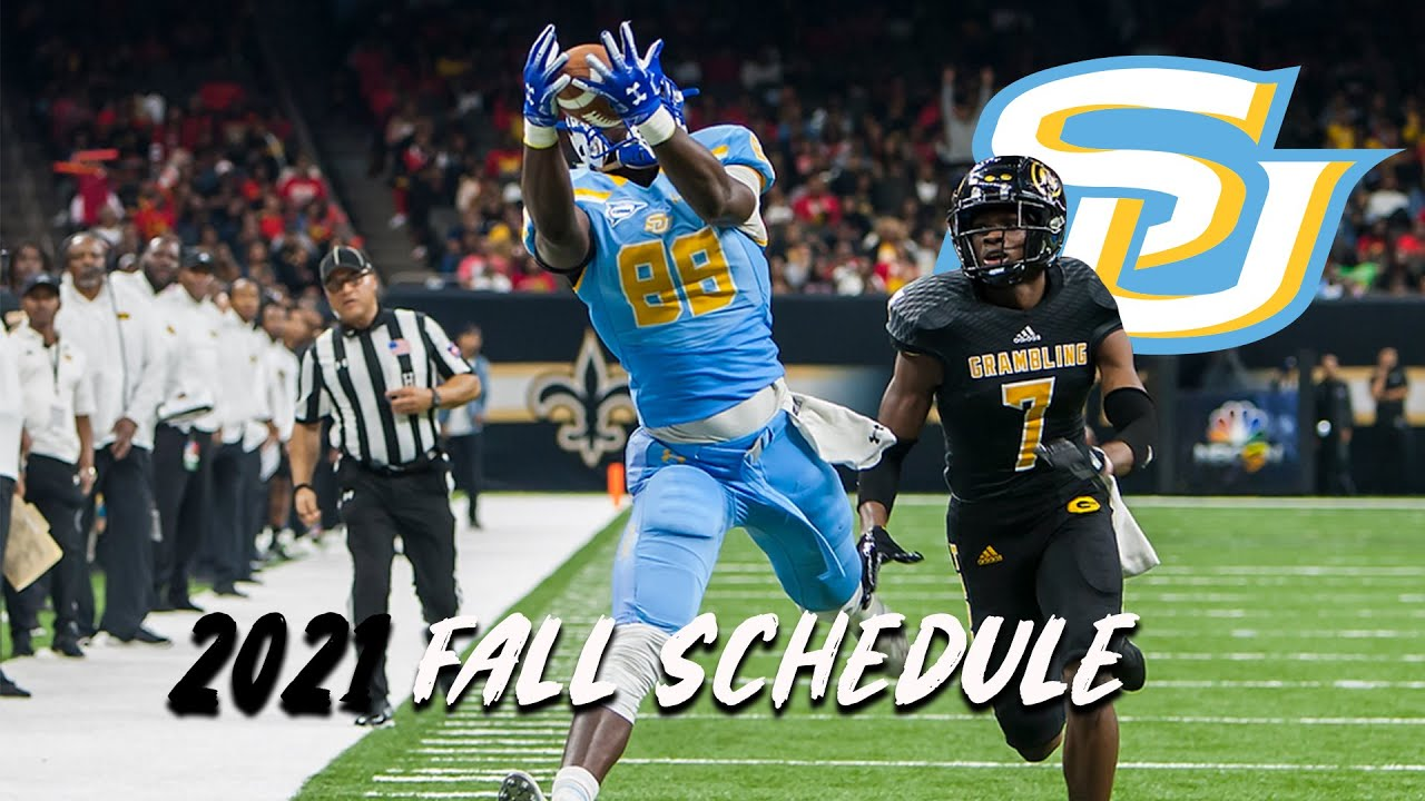 Southern University reveals Fall Football Schedule