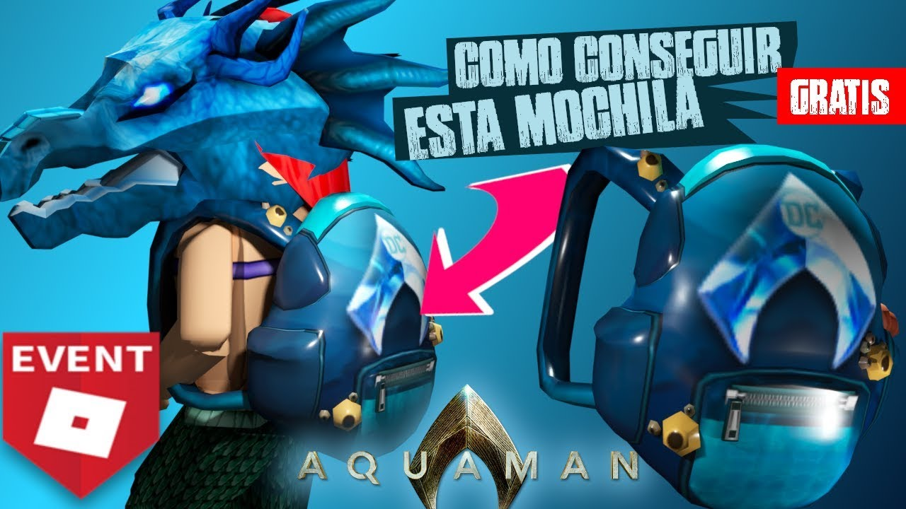 Event How To Get The Aquaman Backpack In Bandit Simulator