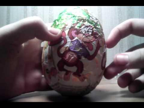 Видео: Большие шоколадные яйца с сюрпризом