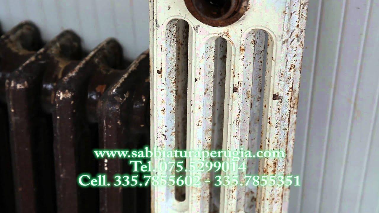 Verniciare I Termosifoni In Ghisa sabbiatura termisofoni radiatori