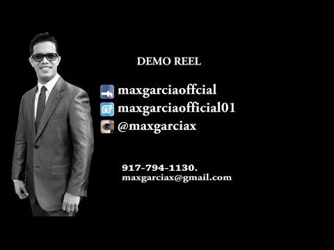 Max Garcia Demo Reel Abril 2016