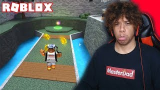 TRY NOT TO DIE CHALLENGE IN ROBLOX!