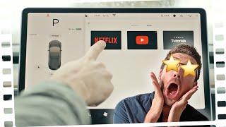 WTF: Netflix IM AUTO gucken! - Das Tesla V10 Mega-Update