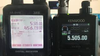 AOR DV10 HF Vs Kenwood TH-74e