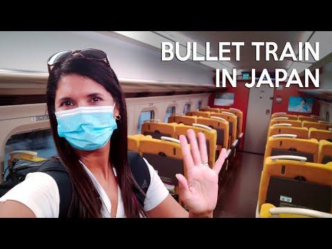 SHINKANSEN: amazing bullet train in Japan   Tokyo to Sendai in the Olympics 🚅