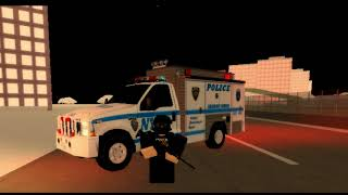 NYPD Police Tribute [Roblox]