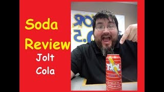 SODA REVIEW // JOLT COLA