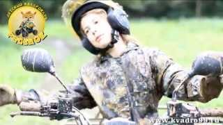 видео Квадроциклы «Русской механики» приняли участие в зимнем мотокроссе