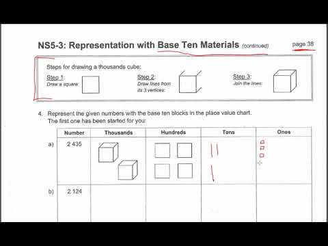 Jump Math Help Grade 5 page 038 tutorial